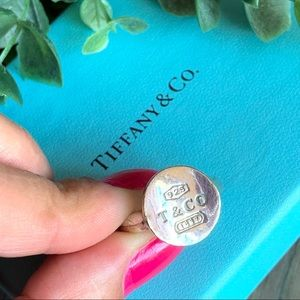 • RARE • Vintage Tiffany & Co. Round Stamp Ring